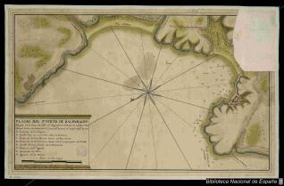 Plano del Puerto de Balparaizo