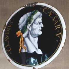 Placa del emperador Claudio