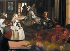 La menina más buscada y otras aventuras en el Prado