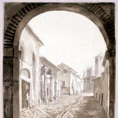 Vista urbana de Talavera de la Reina
