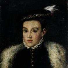 Retrato del príncipe don Carlos a partir del pintado por Alonso Sánchez Coello