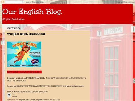 Our English blog