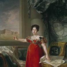 María Isabel de Braganza, reina de España, como fundadora del Museo del Prado