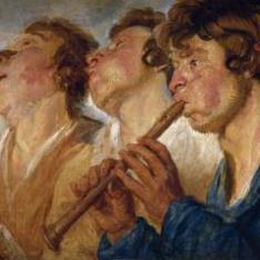 Tres músicos ambulantes