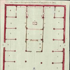 Plano de la Santa Iglesia Catedral de Nuestra Señora de la Concepción de Durango, México