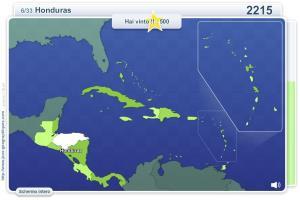 Geo Quizz America Centrale. Giochi geografici
