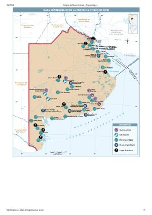 Mapa arqueológico de Buenos Aires. Mapoteca de Educ.ar