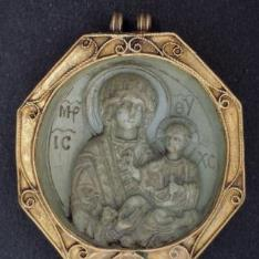 Medallón bizantino