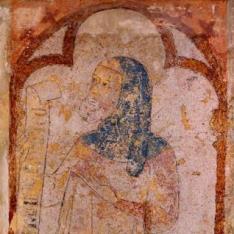 Profeta Ezequiel. Del Retablo de la Pasión del antiguo refectorio de la Catedral de Pamplona