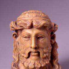 Cabeza de Hermes báquico
