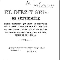 El Diez y seis de septiembre
