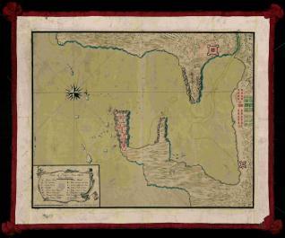 Plano de Puerto Real en la Ysla Jamaica