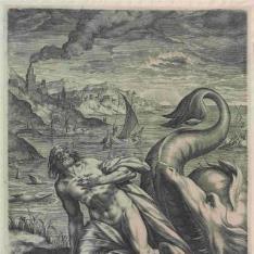 Jonás arrojado por la ballena