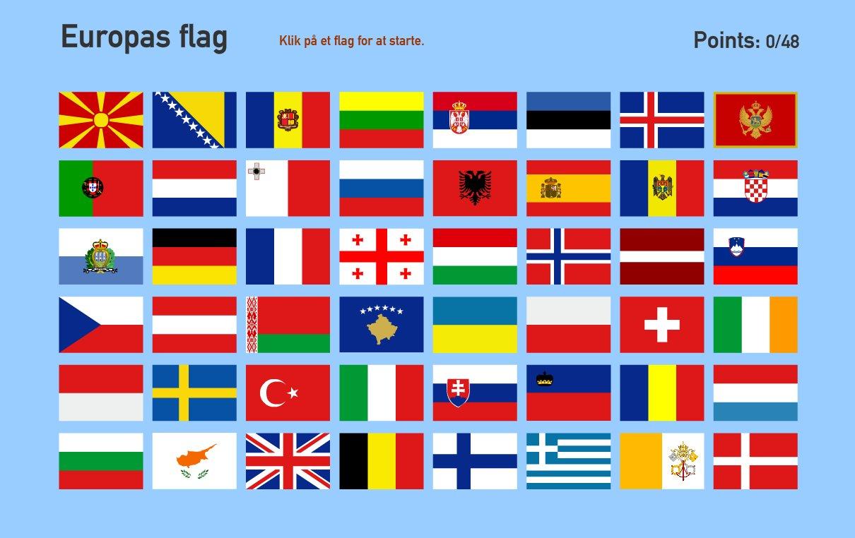 Europas flag. Toporopa