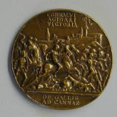 Medalla conmemorativa de la victoria de Gonzalo de Aguilar