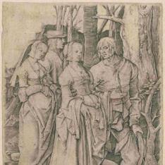 Dos parejas en el bosque