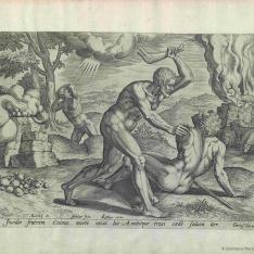 La historia de Caín y Abel
