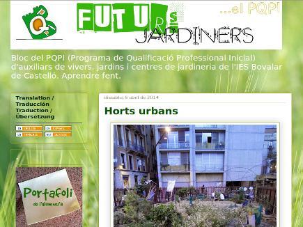 Futurs jardiners...el PQPI