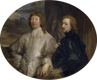 Sir Endymion Porter y Anton van Dyck
