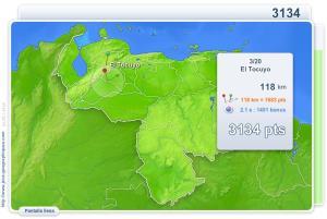 Ciudades de Venezuela. Juegos Geográficos