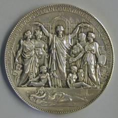Medalla conmemorativa de la Exposición Universal de París de 1878