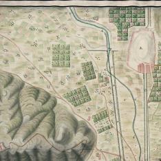 Plano del Recinto de la Plaza de Cartagena, su Puerto, Arzenal y Darzena