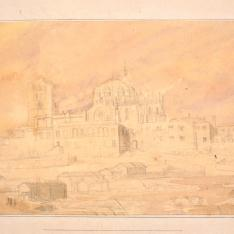 Vista de la catedral de Zamora