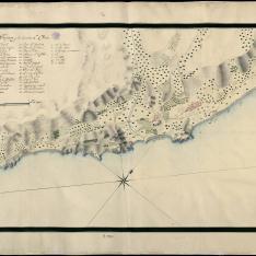 Croquis de la Parte de Costa comprendida entre Tarragona y la hermita de Vará