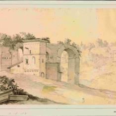 Vista de las ruinas del Palatino
