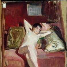 Estudio de desnudo femenino