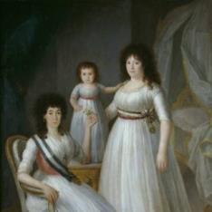 La duquesa de Osuna como Dama de la Orden de Damas Nobles de la Reina María Luisa