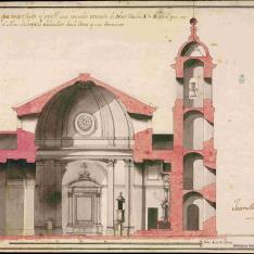 Iglesia de San Francisco en Almería.