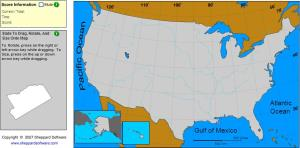 States of United States. Master Geographer. Sheppard Software