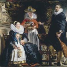 La familia del pintor