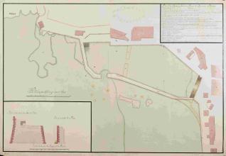 Plano de los muelles que forman la Darsena de Jigon