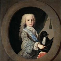 El infante-cardenal Luis Antonio de Borbón y Farnesio, niño
