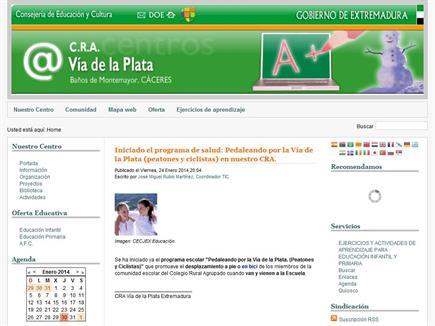 CRA Vía de la Plata de Extremadura
