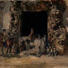 Portada del Palacio del marqués de Dos Aguas (Valencia)