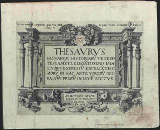 THESAURUS SACRARUM HISTORIARUM VETERIS TESTAMENTI