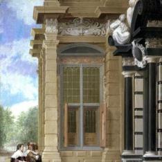 Exterior de un palacio