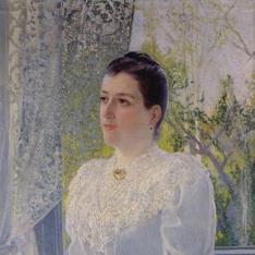 Retrato de Amada Esturo, viuda de Serafín Martínez de las Rivas
