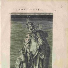 Retrato de Gertrudis de Sajonia