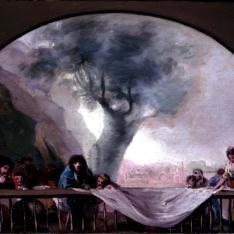 Copia de Goya para la cúpula de la Ermita de San Antonio de la Florida