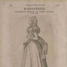 Retrato de Margarita de Austria, Duquesa de Parma