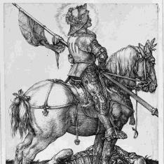 San Jorge a caballo