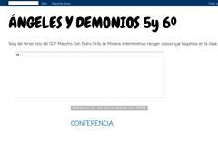 ANGELES Y DEMONIOS DE 5º y 6º