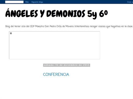 ANGELES Y DEMONIOS DE 5º y 6º