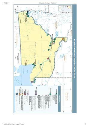 Mapa histórico de Río Negro. Mapoteca de Educ.ar