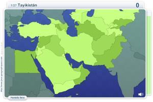 Geo Quizz Oriente Medio. Juegos Geográficos