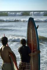 Tablas de surf con pisco 'sour'